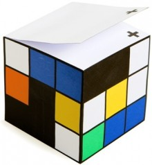 colorblock-note-cube