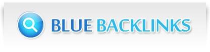 Blue Backlinks affiche les liens vers les blogs et les sites Web