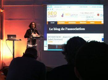 Ouverture du SEO Campus 2011 par le président de l'association : Alexandre Villeneuve