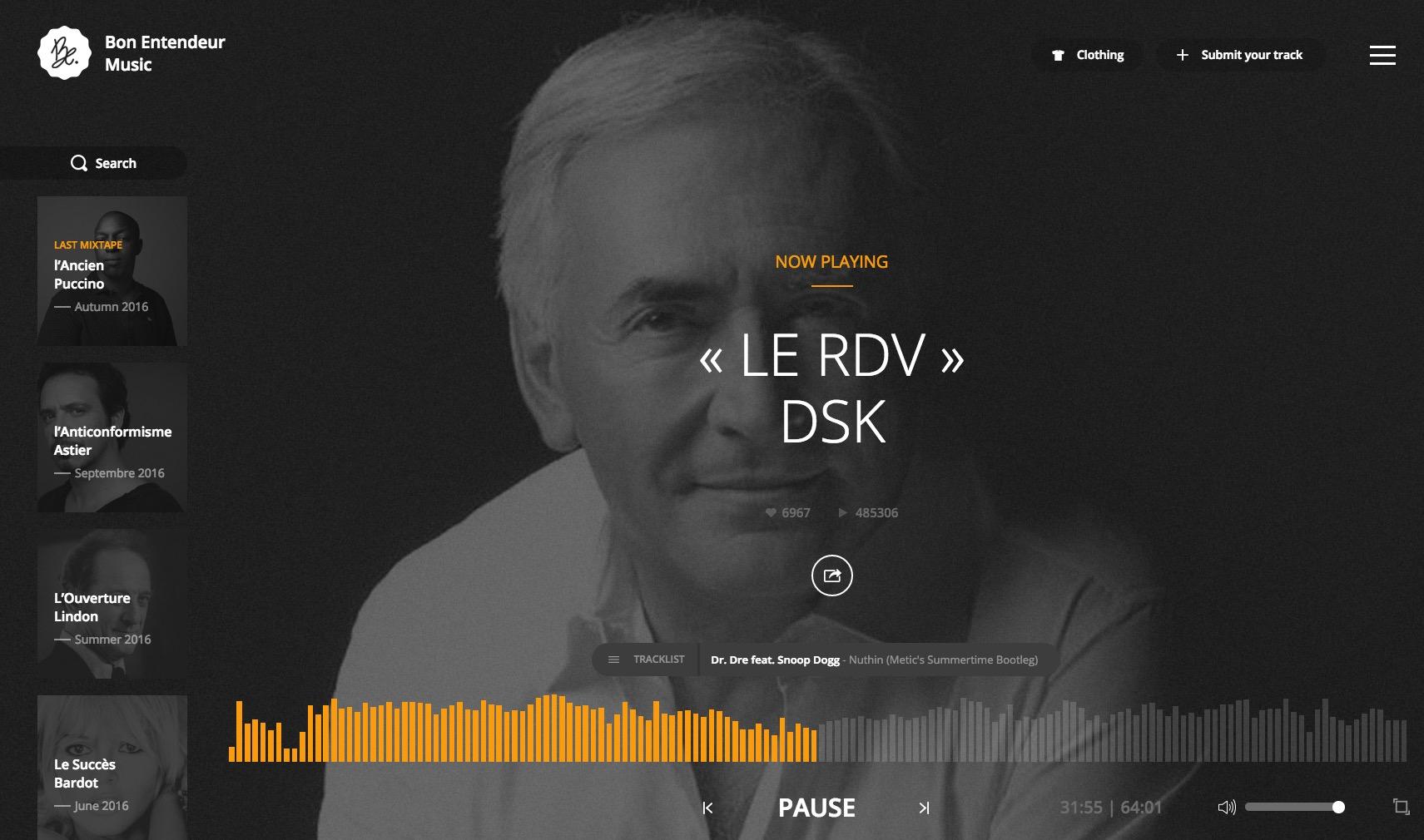 Bon entendeur : Mix musique electronique